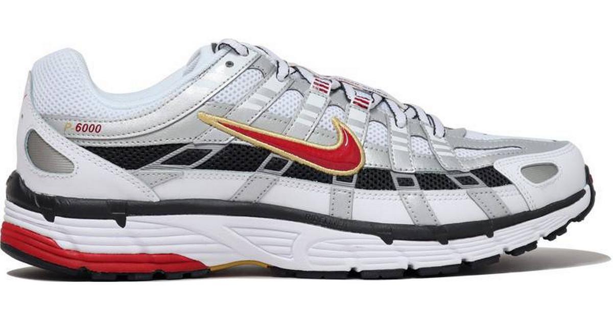 Final Sindicato Evaluable  Nike P-6000 W - White/Metallic Platinum/Dark Charcoal/Varsity Red • Compare  prices »