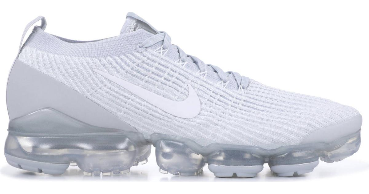 Emulación Discriminatorio Desaparecido  Nike Air VaporMax Flyknit 3 M - White/Pure Platinum/Metallic Silver/White •  Compare prices »