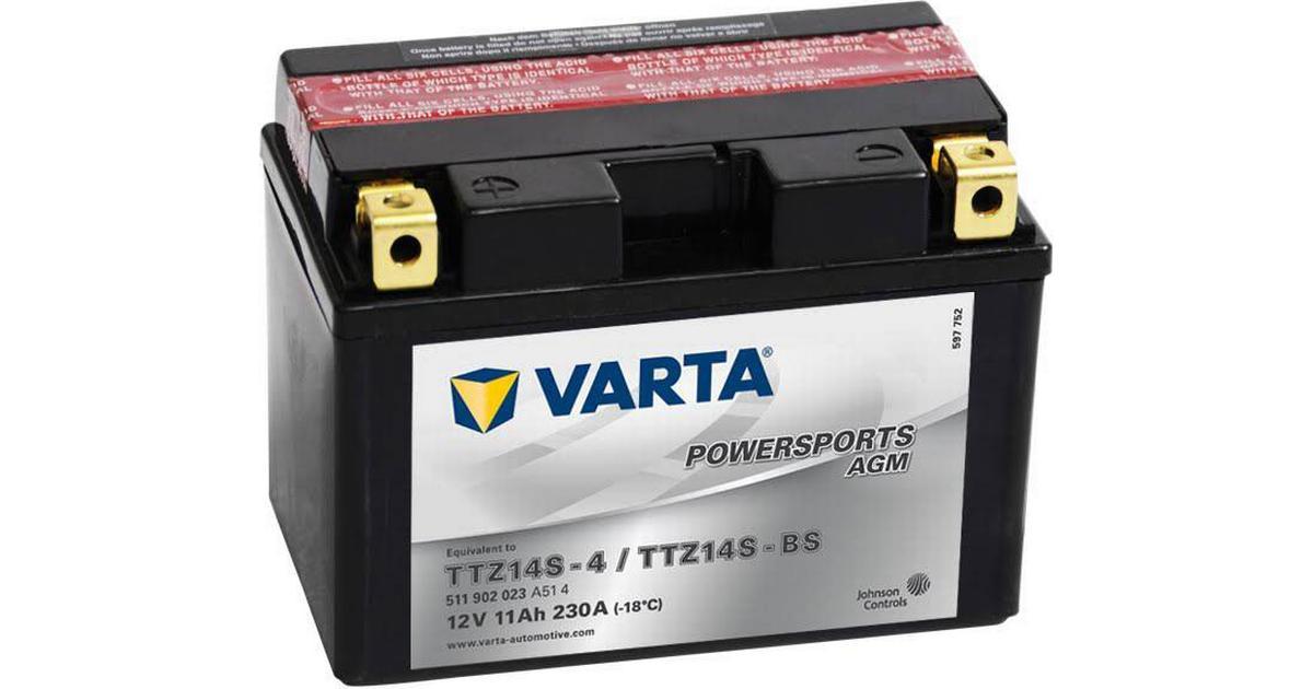 Varta Powersports AGM TTZ14S-BS - Compare Prices - PriceRunner UK