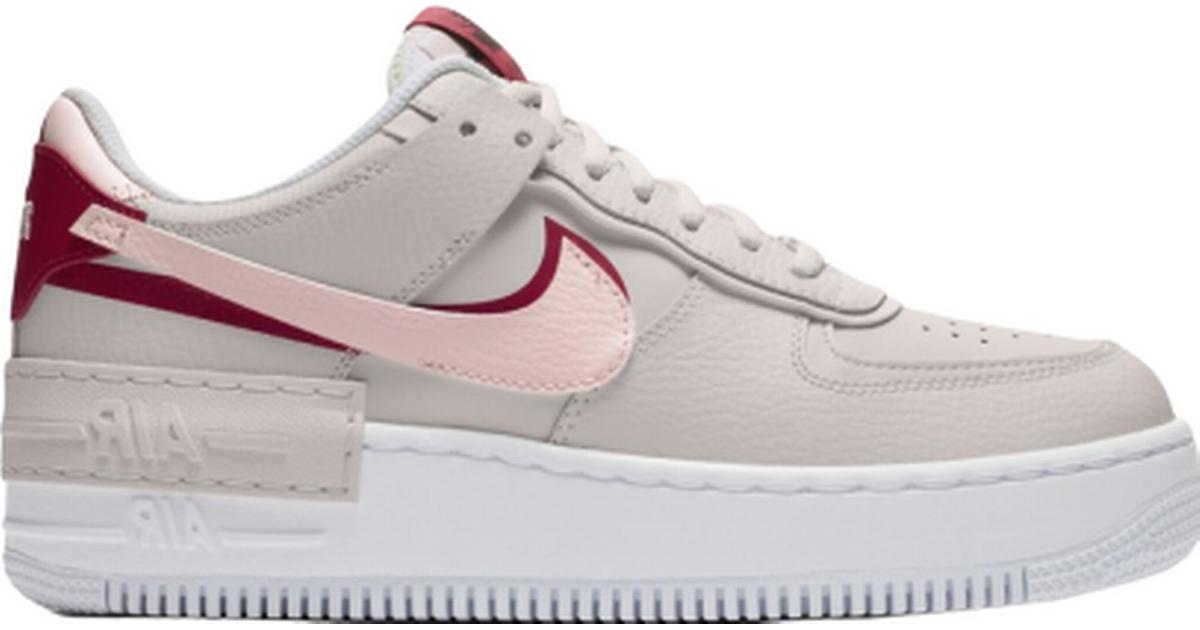 Nike Air Force 1 Shadow W Phantom Gym Red Echo Pink Compare