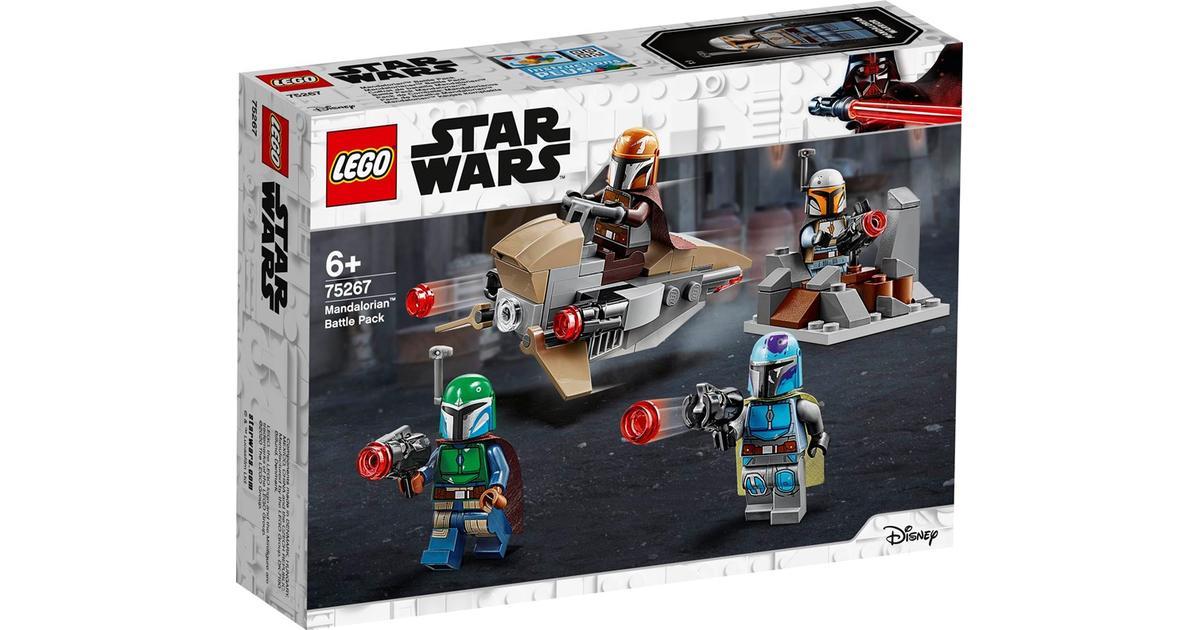 -New 75206 Jedi /& Clone Troopers Battle Pack Lego Star Wars Free Shipping!