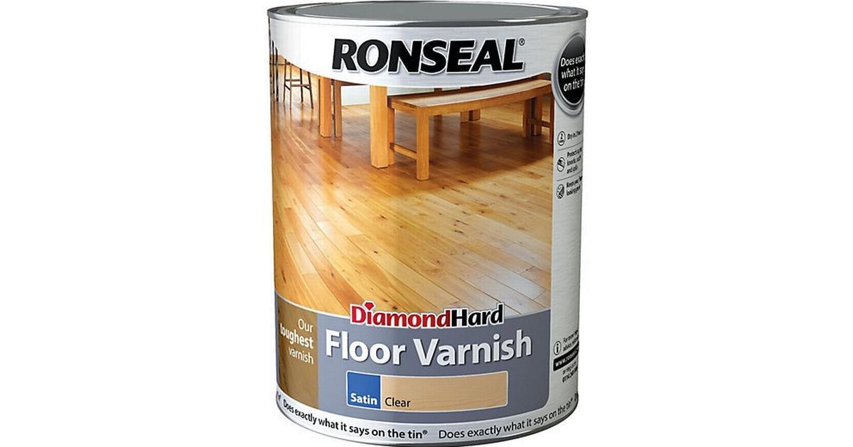 Ronseal Diamond Hard Floor Varnish Wood Protection Transparent 5l