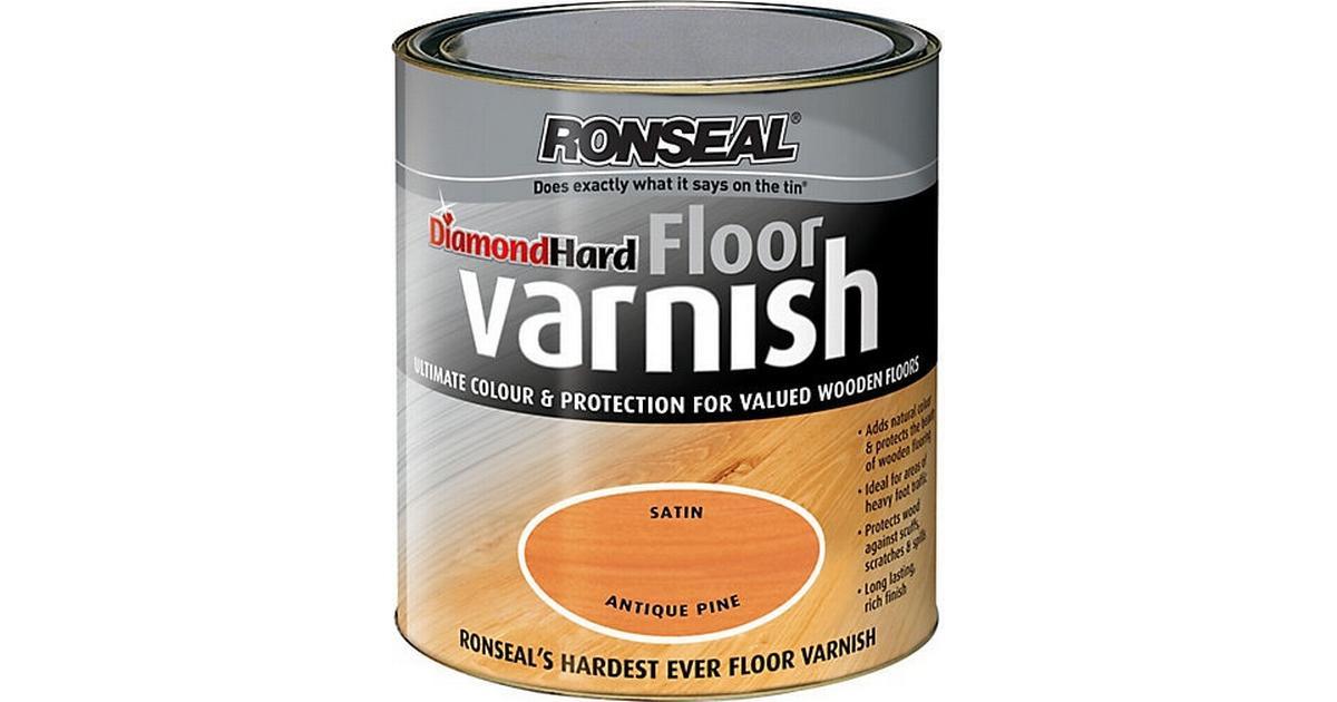 Ronseal Diamond Hard Floor Varnish Wood Protection Brown 2 5l
