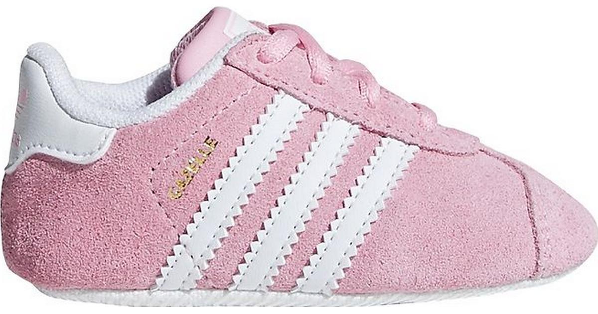 Adidas Gazelle Crib - True Pink/Cloud White/Gold Met