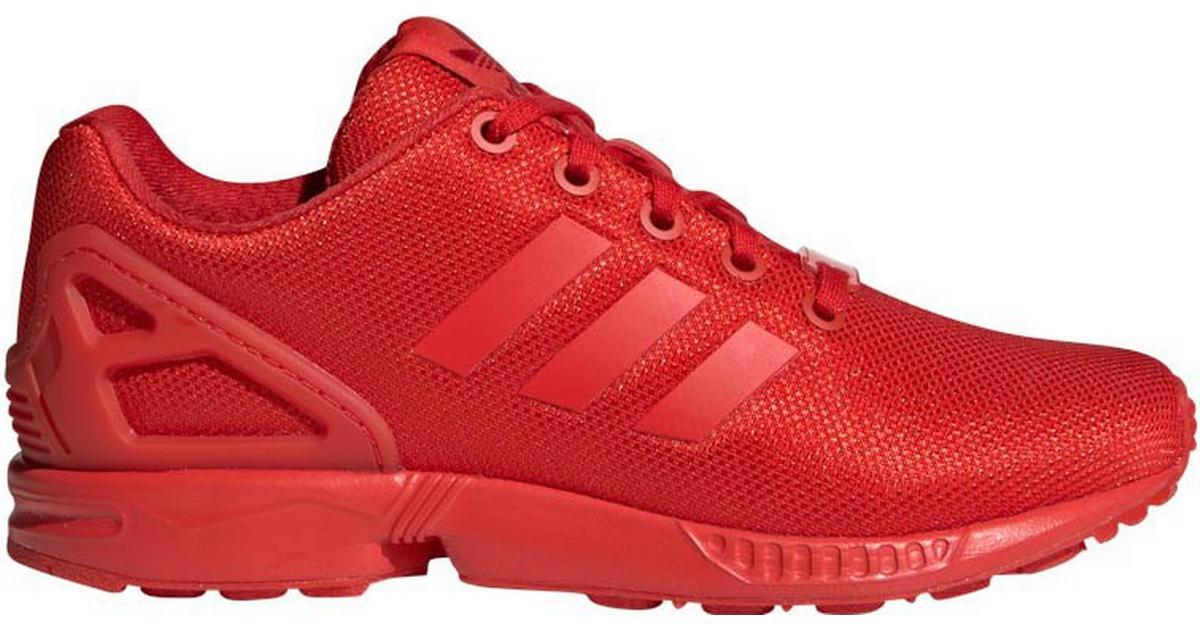 Adidas Junior ZX Flux - Red • Find