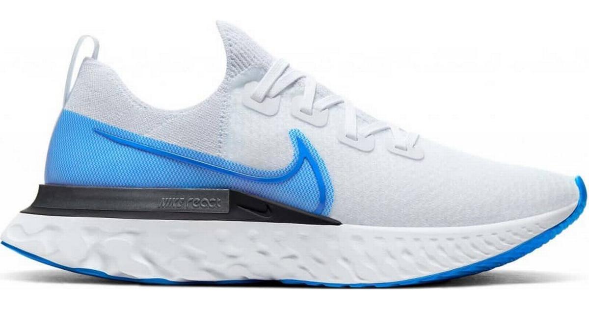 Preceder Eliminación beneficioso  Nike React Infinity Run Flyknit M - True White/White/Pure Platinum/Photo  Blue • Compare prices »