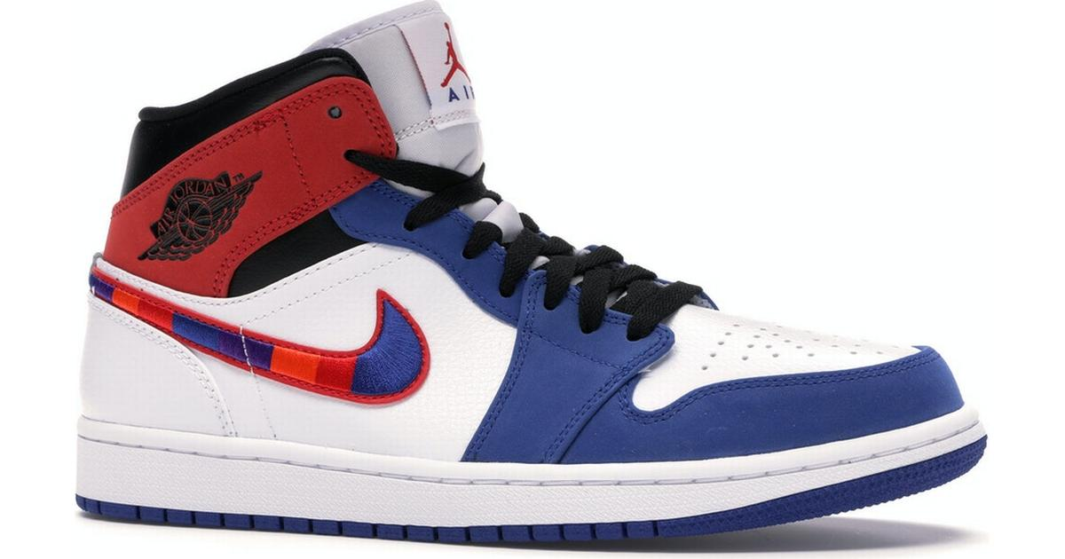 air jordan 1 red blue and black