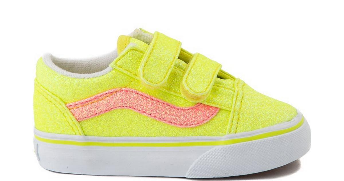 Vans Toddler Neon Glitter Old Skool V