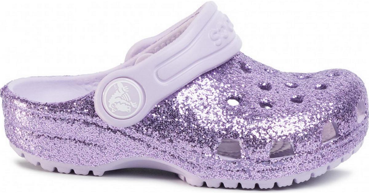 Crocs Kid's Classic Glitter - Lavender