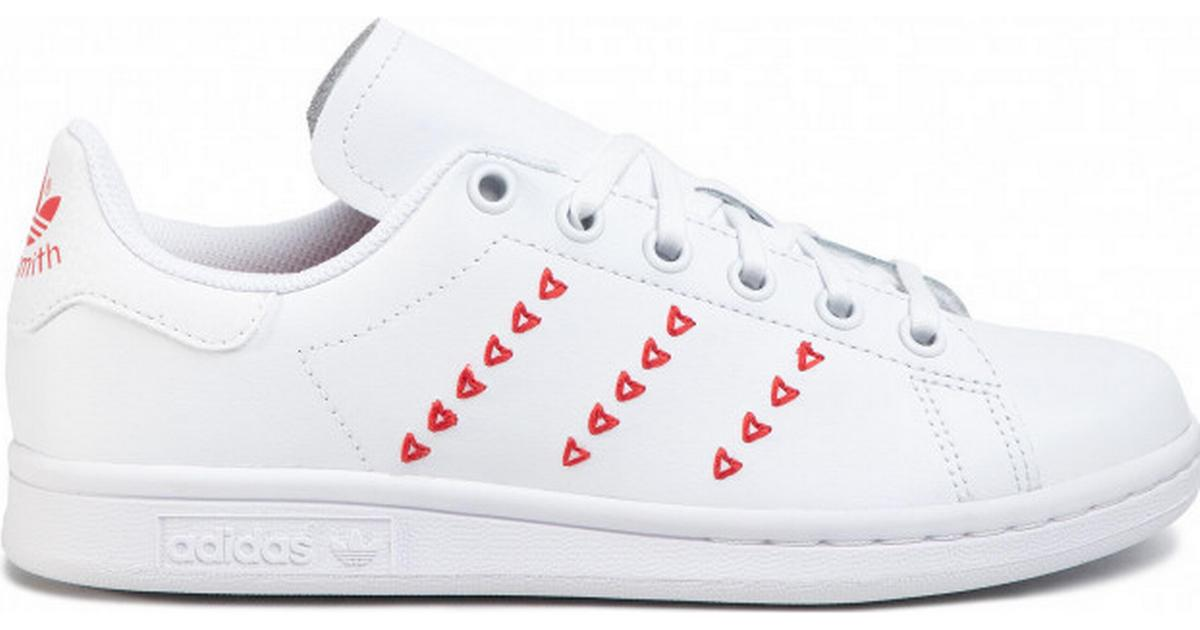pala chisme rompecabezas  Adidas Junior Stan Smith - Cloud White/Lush Red • Compare prices now »