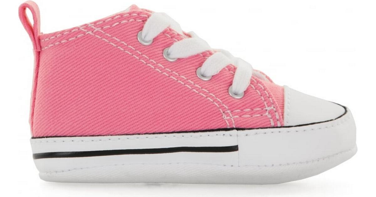 exageración Desafío rápido  Converse Infant Chuck Taylor First Star - Pink • Compare prices now »