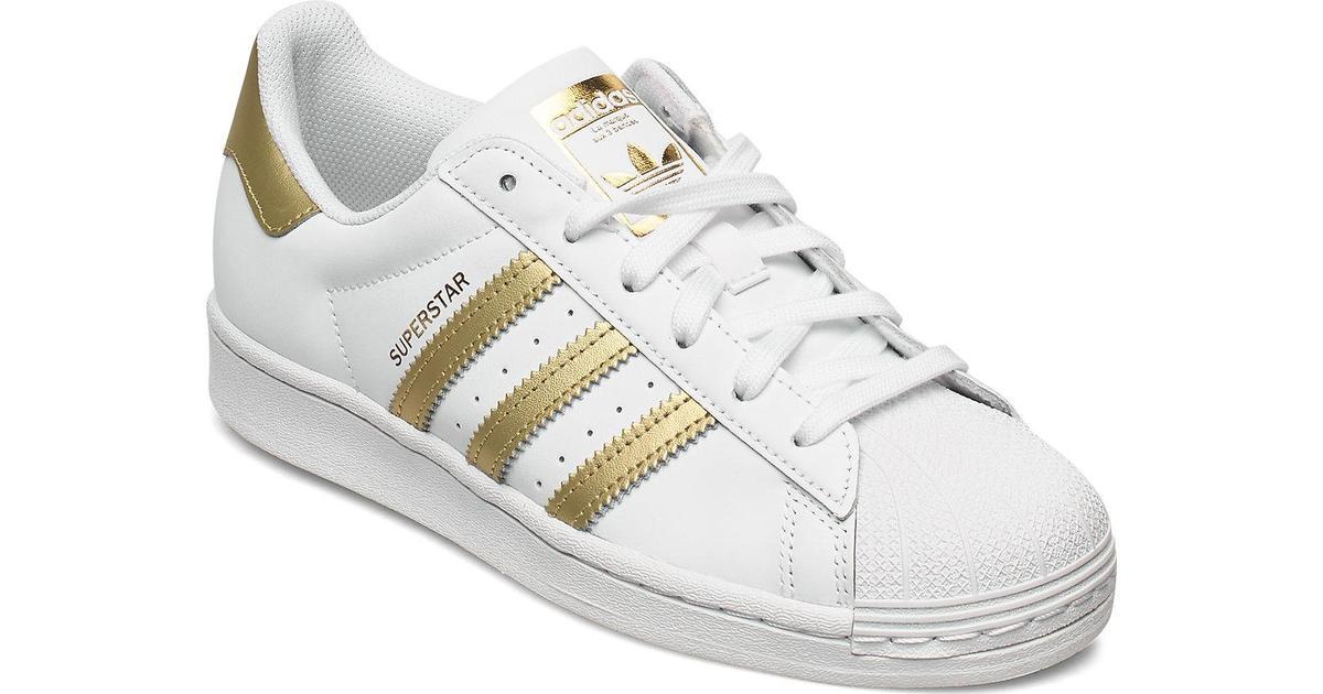 Adidas Superstar W - Cloud White/Gold Metallic/Cloud White