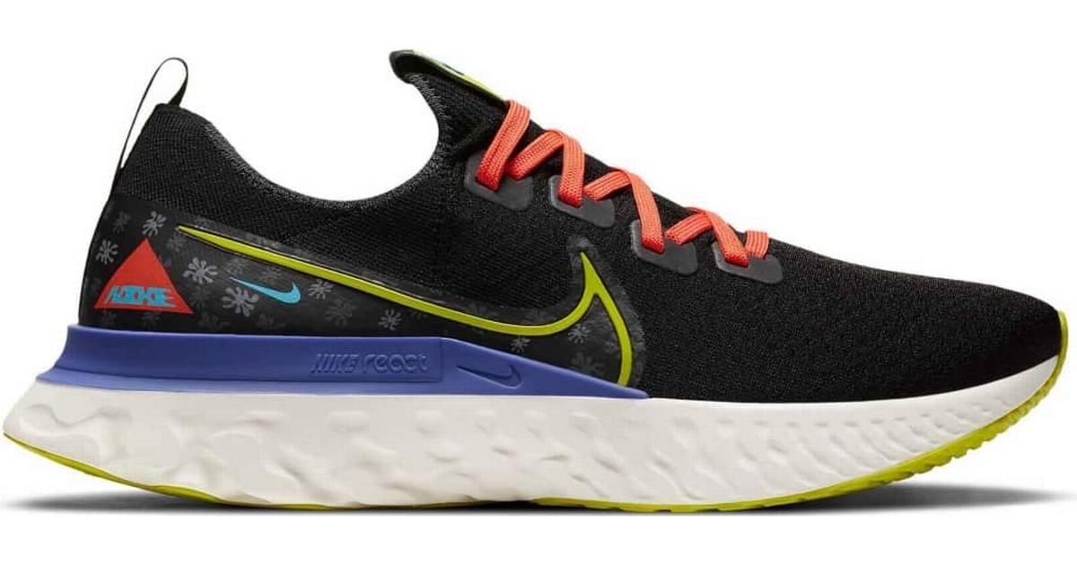 Nike React Infinity Run Flyknit A.I.R. Chaz Bundick - Black/Sail ...