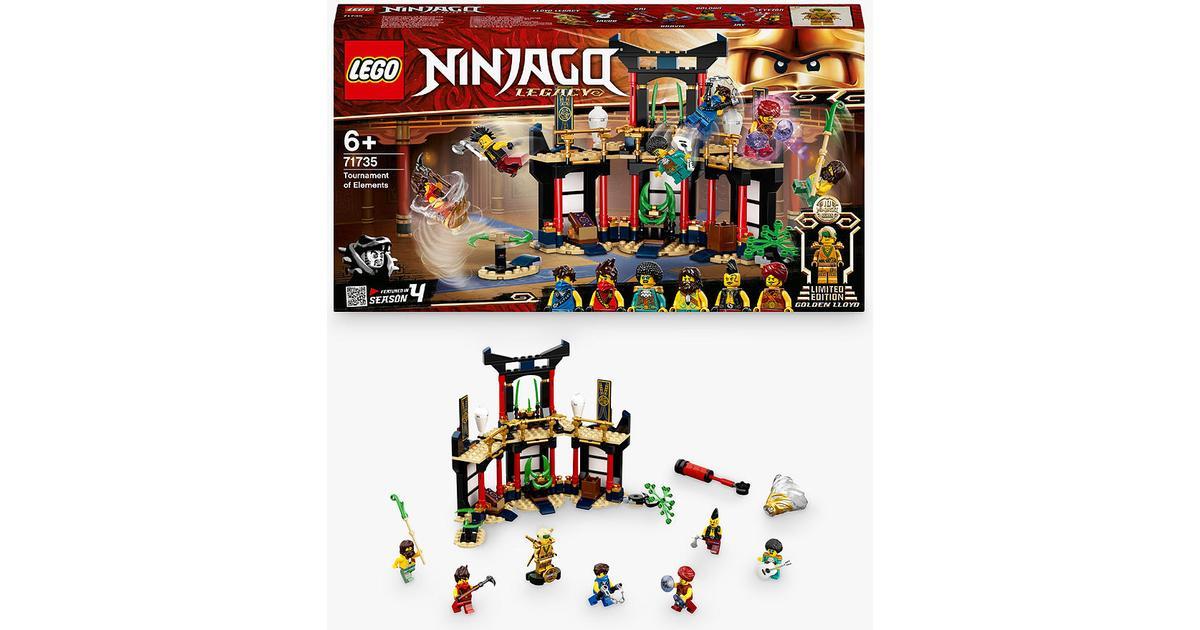 lego ninjago tournament of elements 71735 • compare prices
