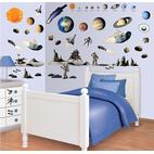 Walltastic Space Adventure Room Decor Kit 41127