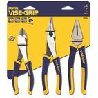 Irwin 10505483 Pro Nipper, Nose Plier Set 3-parts