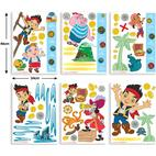 Walltastic Jake & the Never Land Pirates Room Décor Kit