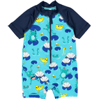 Polarn O. Pyret UV Frogs Swimsuit - Blue (60438511)