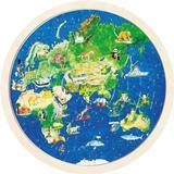 Classic Jigsaw Puzzles Goki World Map 57 Pieces