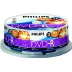 DVD Philips DVD-RW 4.7GB 16x Spindle 25-Pack