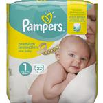 Diapers Pampers Premium Protection New Baby Size 1