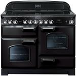 Rangemaster Classic Deluxe 110 Induction Green, Black, White, Blue