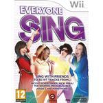 Nintendo wii sing Nintendo Wii Games Everyone Sing