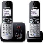 Twin phone with answer machine Landline Phones Panasonic KX-TG6822 Twin