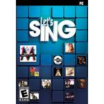 Music PC Games Let's Sing