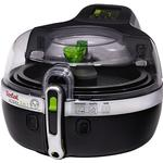 Removable Bowl Deep Fat Fryers Tefal Actifry 9601 2-in-1