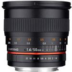 Samyang 50mm f1.4 AS UMC for Canon EF