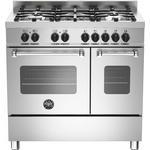 Gas Cooker Bertazzoni MAS90 5 MFE D XE