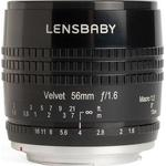 Camera Lenses price comparison Lensbaby Velvet 56mm f1.6 for Micro Four Thirds