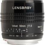Camera Lenses Lensbaby Velvet 56mm f1.6 for Sony E