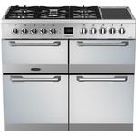 Dual Fuel Cooker Leisure CS100FMIRX Stainless Steel