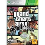 Xbox 360 Games Grand Theft Auto: San Andreas