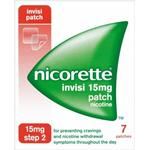 Nicotine Patches Nicorette Step2 Invisi 15mg 7pcs