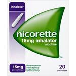 Medicines Nicorette 15mg 20pcs