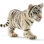 Toy Figures - Tiger Schleich Tiger cub white 14732