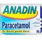 Fever Relief Anadin Paracetamol 500mg 16pcs
