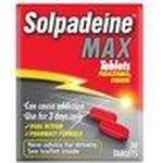 Joint and Muscle Pain Solpadeine Max 500mg 30pcs