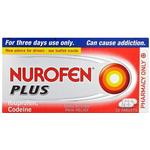 Pain & Fever Nurofen Plus 200mg 32pcs