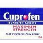 Joint and Muscle Pain Cuprofen Maximum Strength 400mg 24pcs