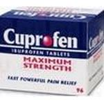 Joint and Muscle Pain Cuprofen Maximum Strength 400mg 96pcs