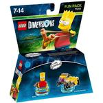 Gaming Accessories Lego Dimensions Bart Simpson 71211