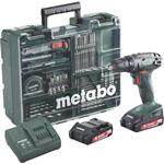 Drill Driver Metabo BS 18 Set