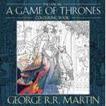 A paperback book The Official A Game of Thrones Colouring Book, Paperback