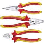 Needle-nose Pliers Gedore 1102-002 VDE 1692291 Combination Plier, Nipper, Nose Plier Set 3-parts
