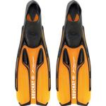 Orange - Flippers Beuchat X Voyager