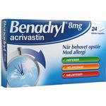 Asthma & Allergy Benadryl 8mg 24pcs